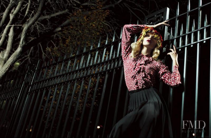 Natasha Poly featured in Prada, February 2012