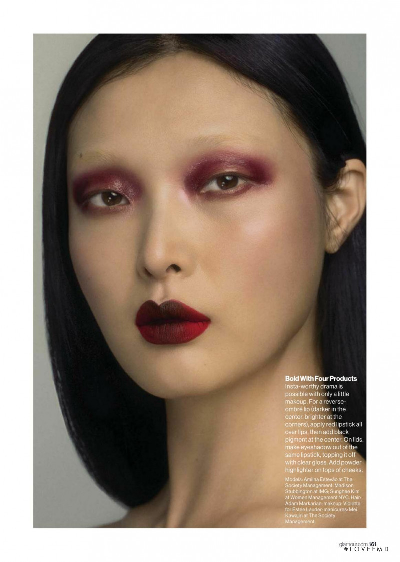 Sung Hee Kim featured in Bare or Bold?, April 2018