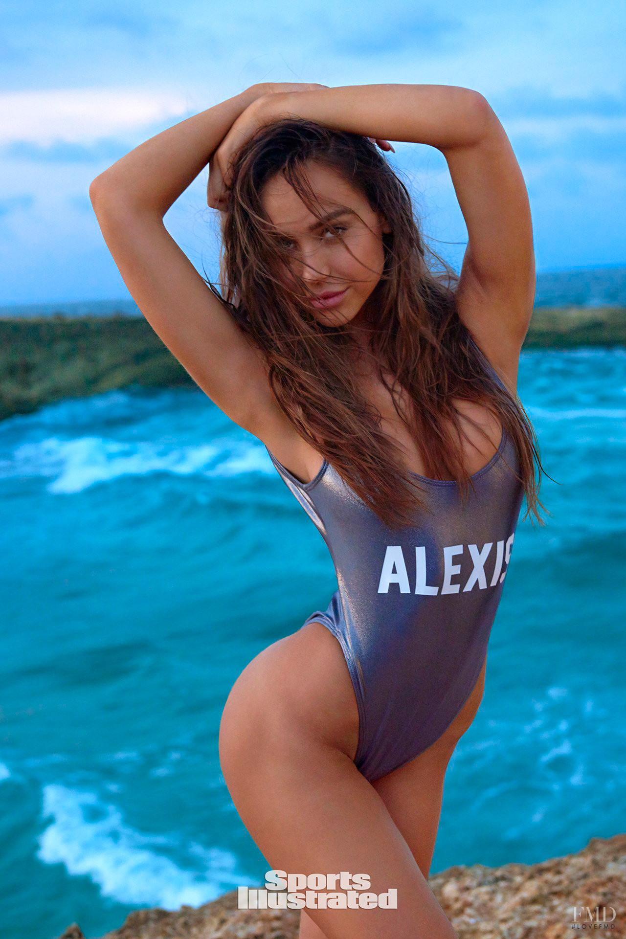 15faab3954e Alexis Ren in Sports Illustrated Swimsuit with - (ID 52355 ...