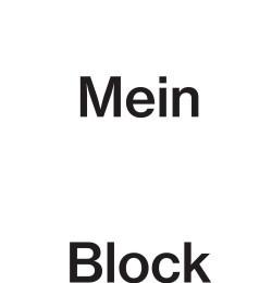 Mein Block