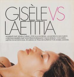 Gisele vs Laetitia