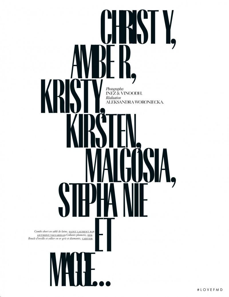 Christy, Amber, Kirsty, Kirsten, Malgosia, Stephanie & Maggie, September 2018