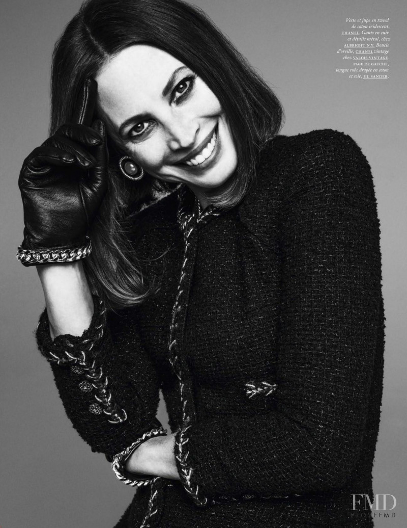 Christy Turlington featured in Christy, Amber, Kirsty, Kirsten, Malgosia, Stephanie & Maggie, September 2018