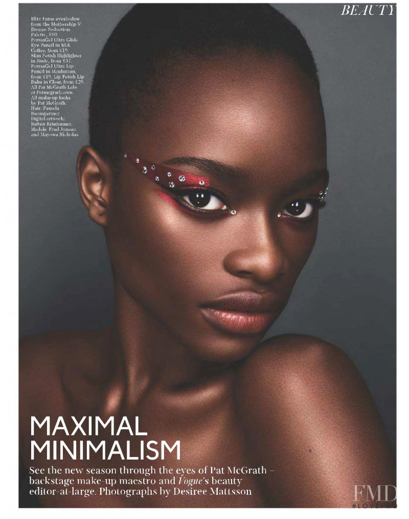 Mayowa Nicholas featured in Maximal Minimalism, September 2018