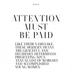 Attention Must Be Paid