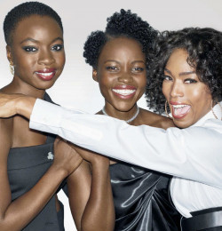 Lupita, Danai, and Angela
