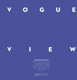 Vogue View Point - Kinds Of Blue