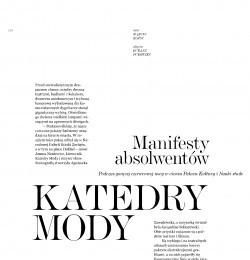 Katedry Mody