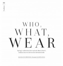 Who, What, Wear