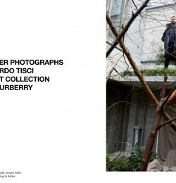 Riccardo Tisci and his 1st collection for Burberry
