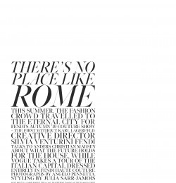 There\'s no Place like Rome