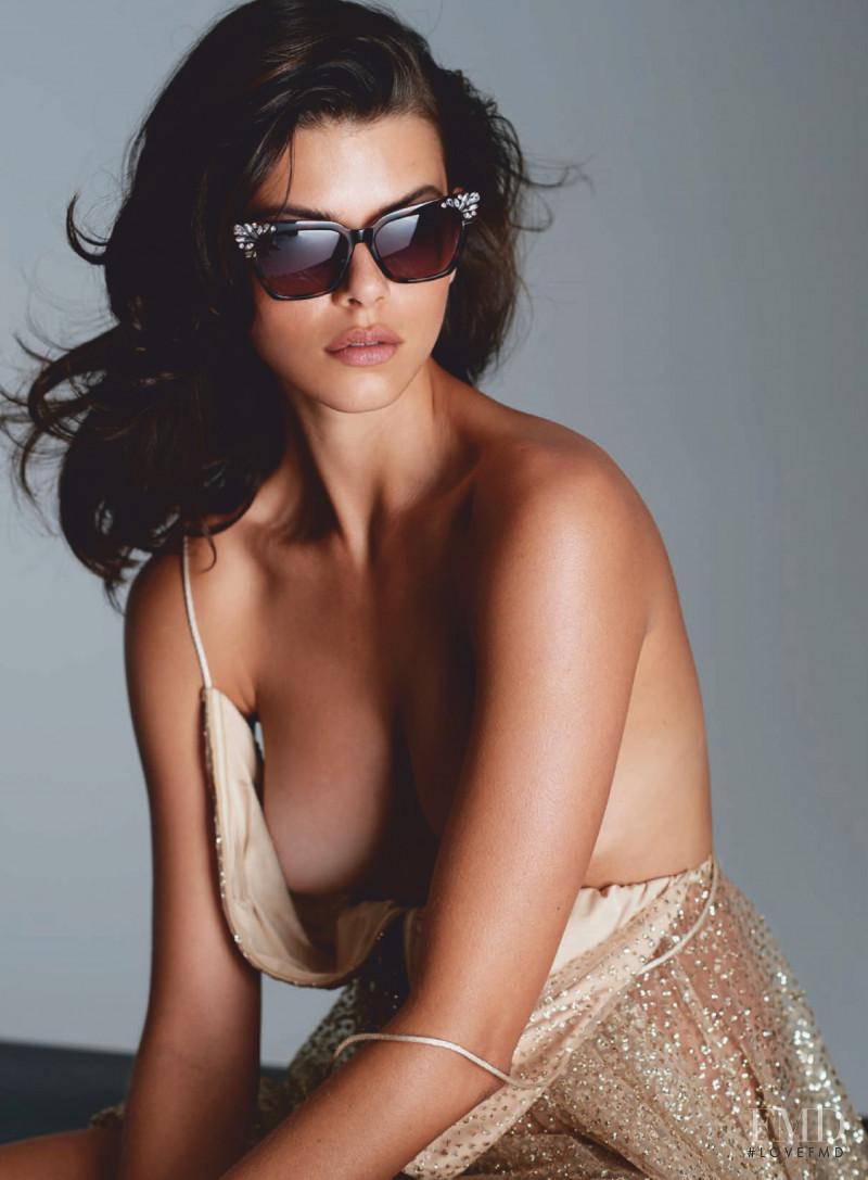 Georgia Fowler Numero Russia 2020 Beauty Cover Editorial