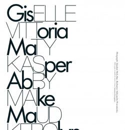 Giselle, Vittoria, Maty, Kasper, Abby, Maike, Maud, Kerolyn, Amrit