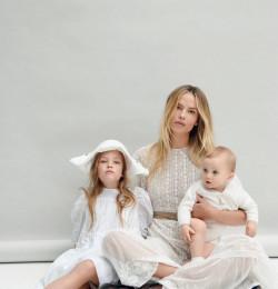 Natasha Poly: Children and Motherhood