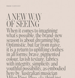 A New Way Of Seeing