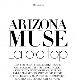 Arizona Muse La bio top