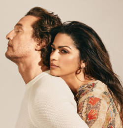 Matthew and Camila Alves McConaughey