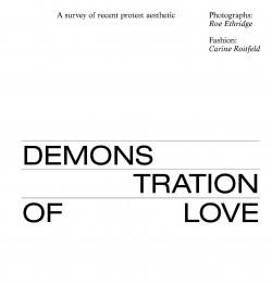 Demonstration of Love