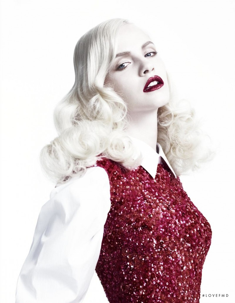 Ginta Lapina featured in Left In Darkness, September 2012