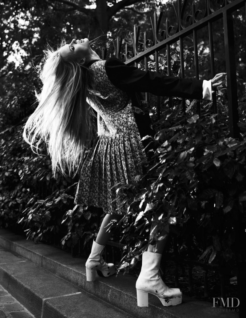 Anne Vyalitsyna featured in Left In Darkness, September 2012