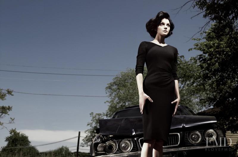 Jessica Stam featured in Left In Darkness, September 2012