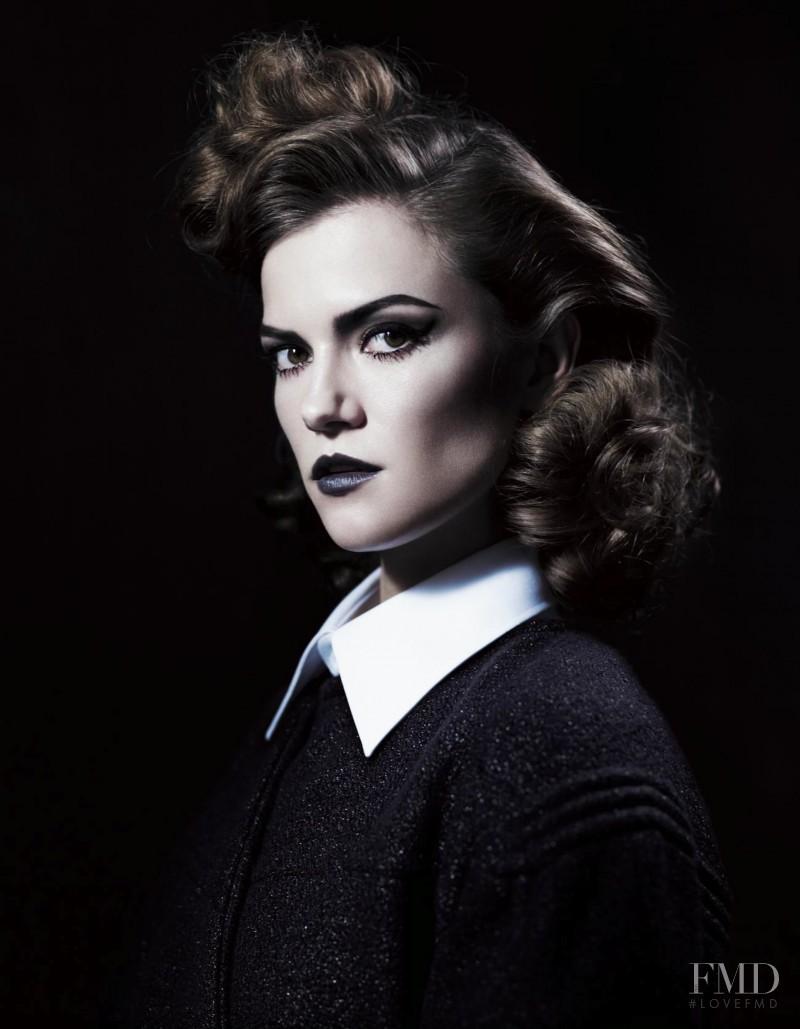 Kasia Struss featured in Left In Darkness, September 2012