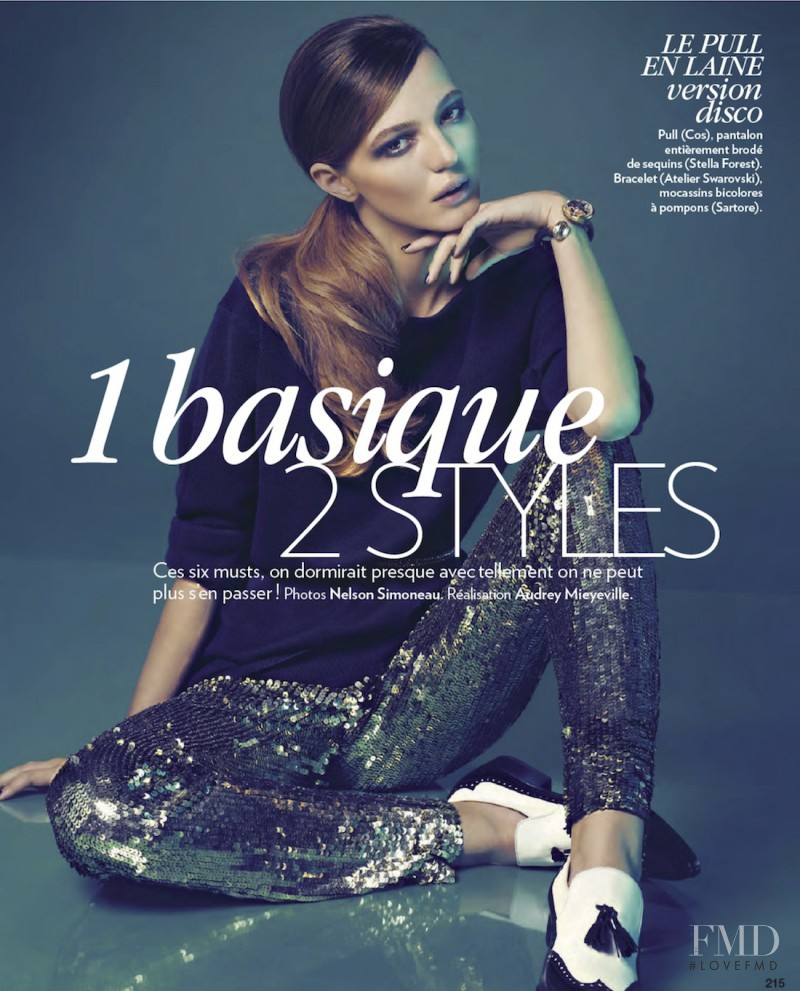 Alex Sandor featured in 1 Basique 2 Styles, January 2013