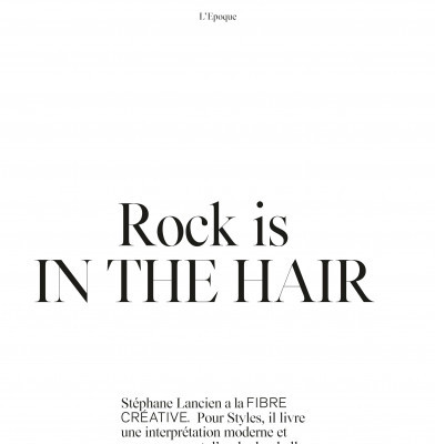 Rock Is In The Hair