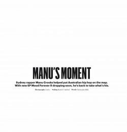Manu\'s Moment