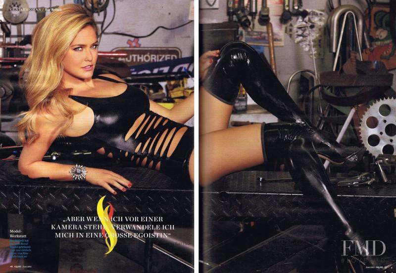Bar Refaeli (GQ UK, January 2012) - Models Inspiration