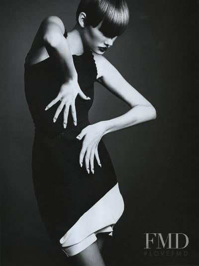 Daniela Kocianova featured in Black White, March 2010
