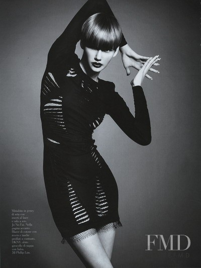 Daniela Kocianova featured in Black White, March 2010
