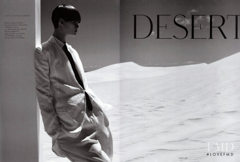 Daniela Kocianova featured in Desert, March 2010