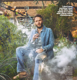 Seth Rogen and the year that went to pot