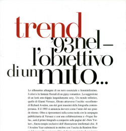 Trend \'93 Nel - L\'obiettivo di un Mito...