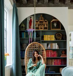 Lily Aldridge Decorating Room