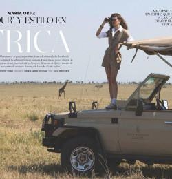 Marta Ortiz Glamour\' Y Estilo En Africa