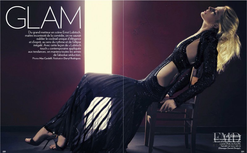 Quinta Witzel featured in Glam, March 2013
