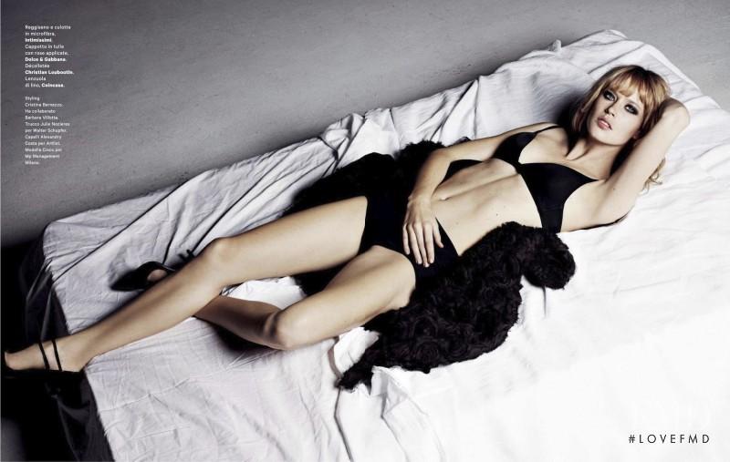 Franziska von Tschurtschenthaler featured in Sexy Woman, March 2013