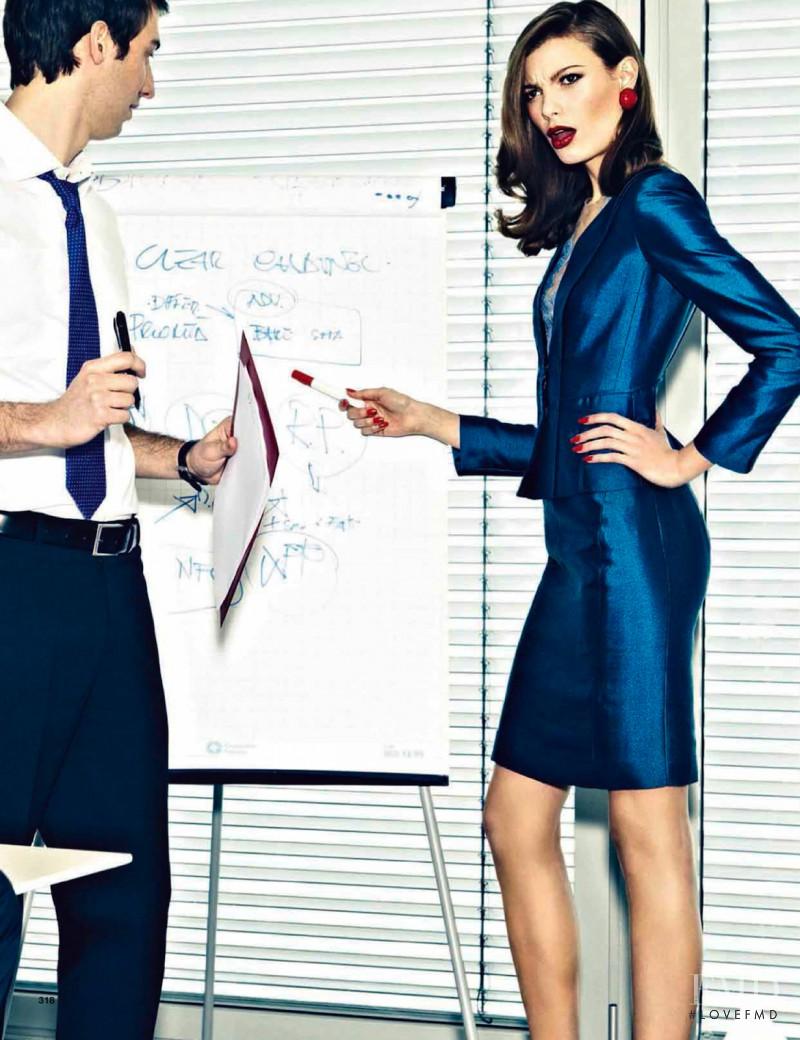 Maria Senko featured in Working Girl, March 2013