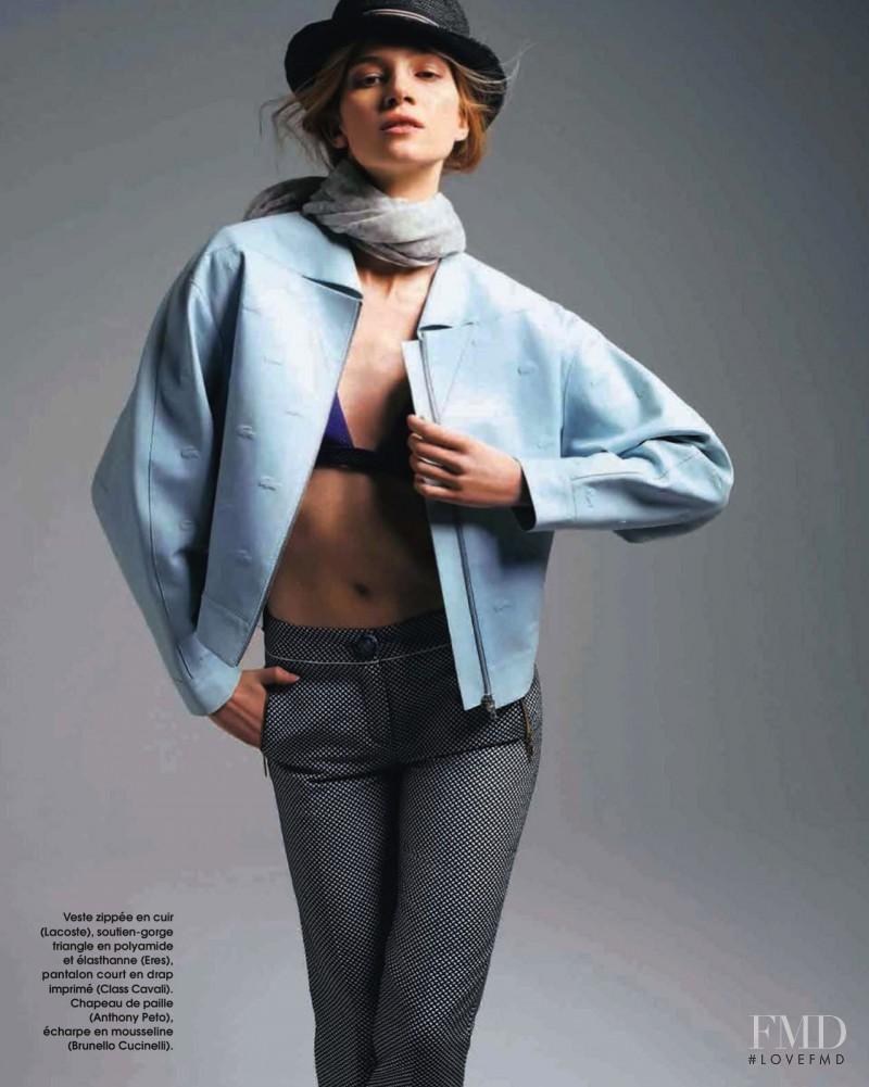 Anne Marie van Dijk featured in Soft Cuir, April 2013