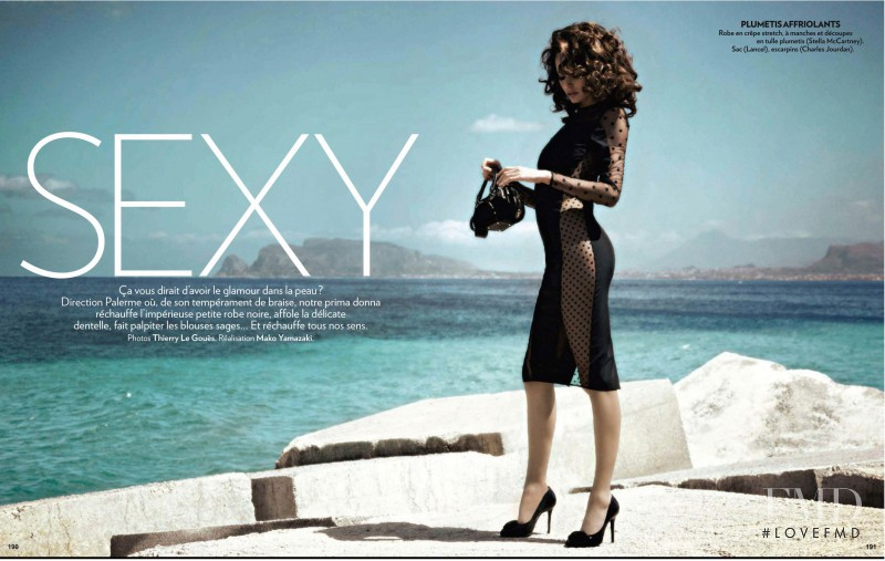 Nicole Trunfio featured in Sexy, September 2011
