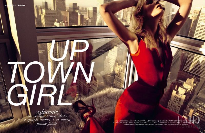 Tiiu Kuik featured in Up Town Girl, April 2013