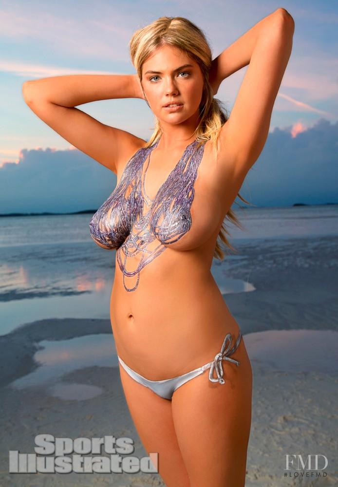 paint body Kate swimsuit upton