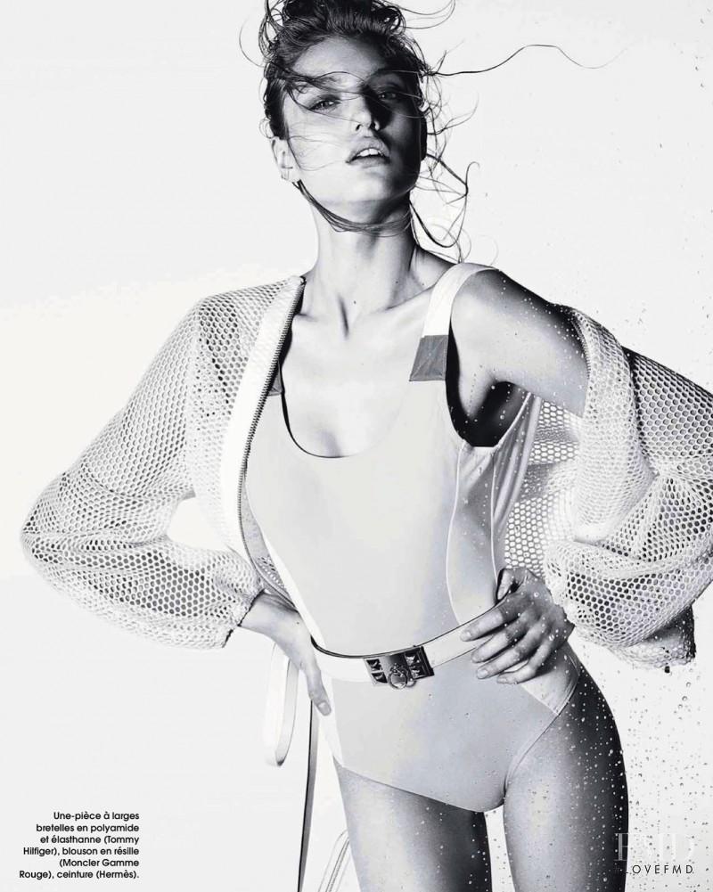 Svetlana Zakharova featured in Maillots Rock, June 2013