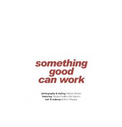 Something Good Can Work