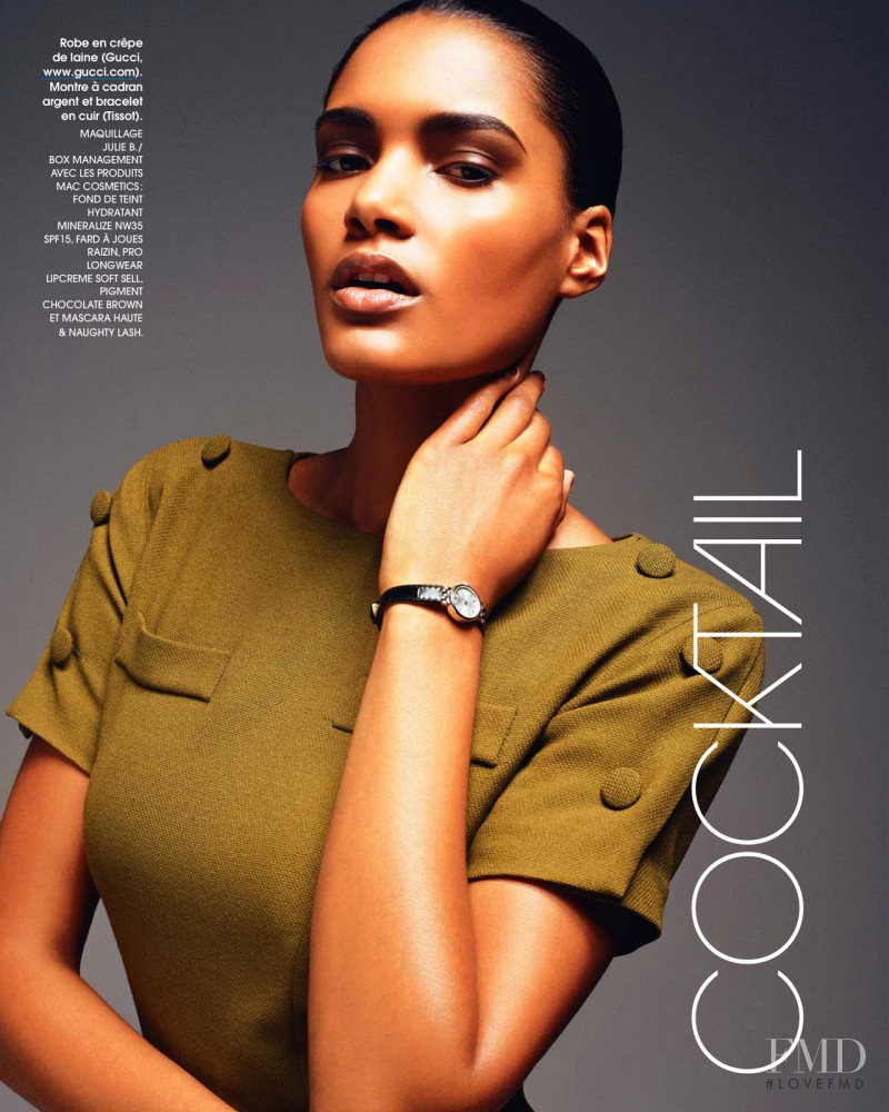 Nadia Araujo featured in Hits, August 2013