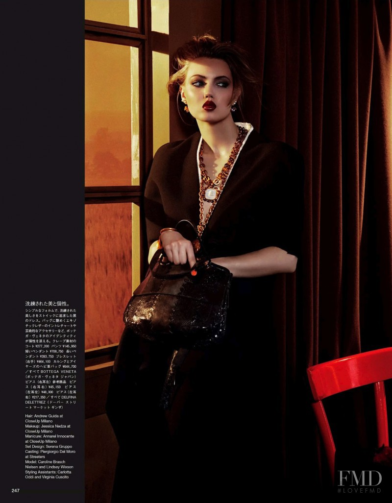 Lindsey Wixson featured in Speaking Of Structure, September 2013