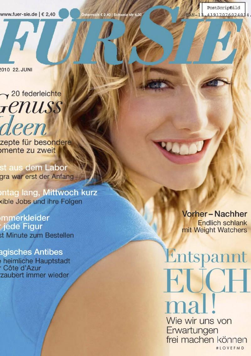 Renata Zanchi featured on the Für Sie cover from June 2010