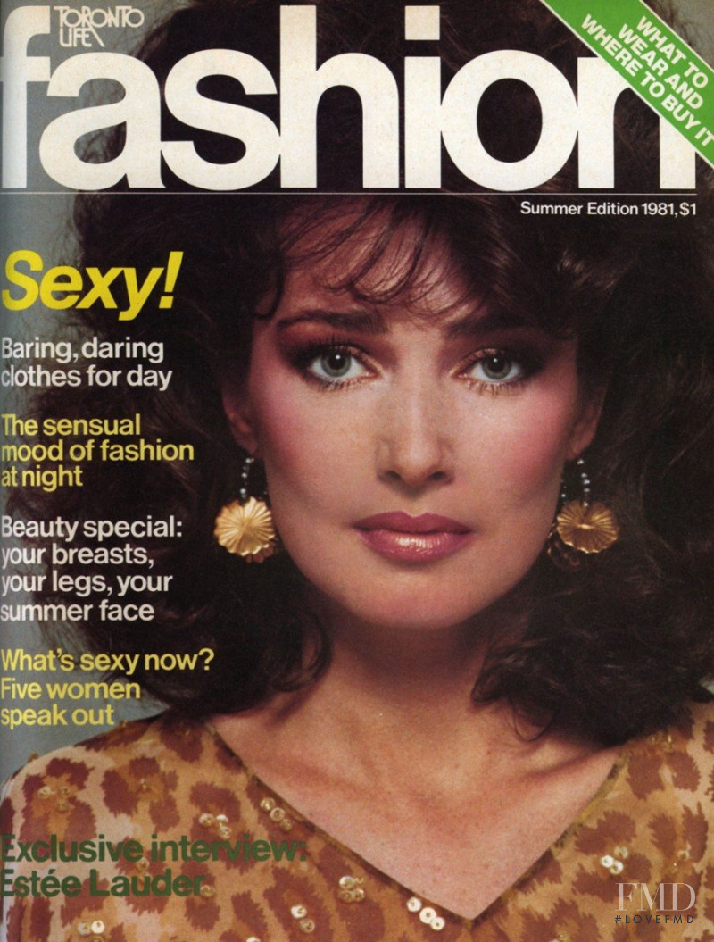 Kerry Jewitt featured on the Fashion cover from June 1981